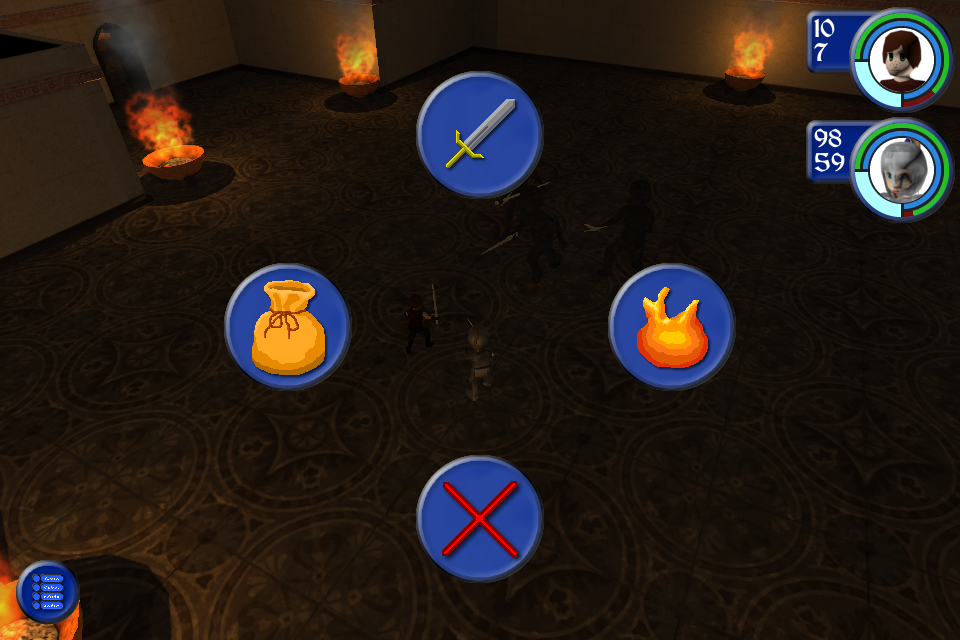 Dragon's Gaze Image 3: Combat radial menu